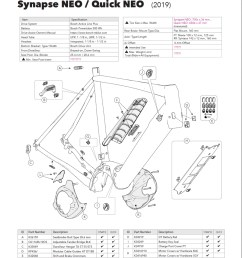 cannondale synapse quick neo parts list and exploded diagram [ 900 x 1127 Pixel ]