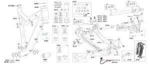 Cannondale Trigger 29er Parts List and Exploded Diagram