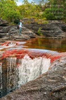 Caño Cristales formaciones rocosas / Fotografía por Mario Carvajal