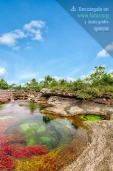 Caño Cristales, jacuzzis naturales de colores / Fotografía por Mario Carvajal