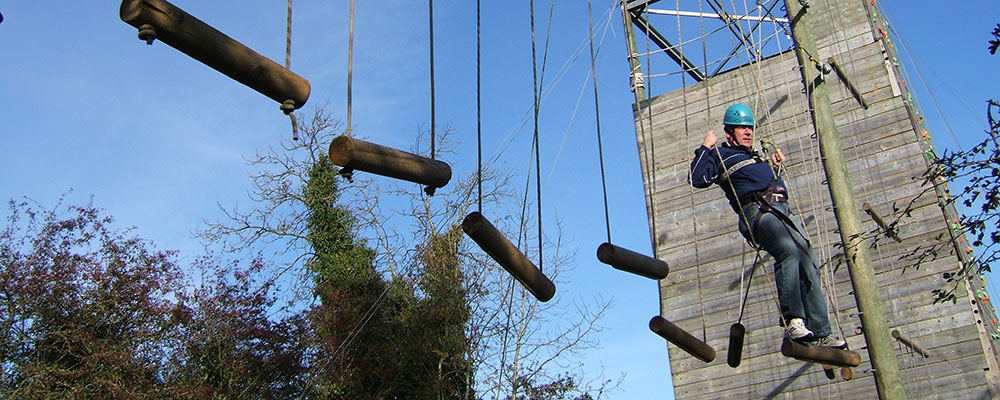 High Level Ropes Course