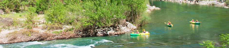 Balade canoe Languedoc Roussillon