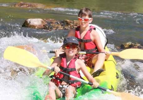 canoe herault enfants