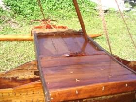 Taiwan canoe - platform
