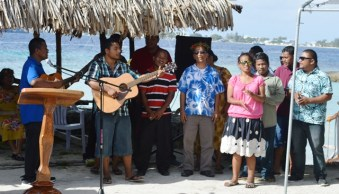 The Youth to Youth in Health band wowed the crowd with songs. Photo: Cary Evarts