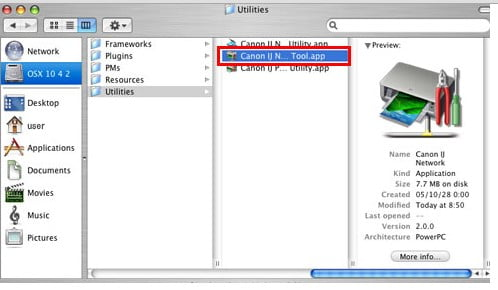 Canon driver software for mac