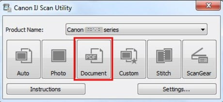 IJ Scan Utility Download | Canon Europe Drivers