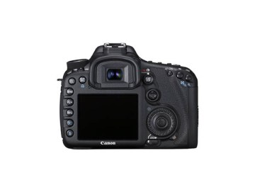 Canon 7D Back