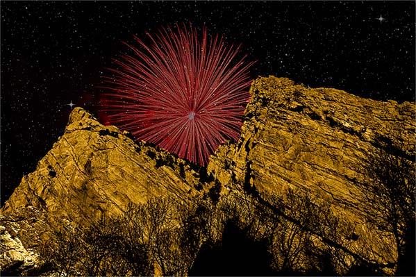 Rocky Mountain Fireworks