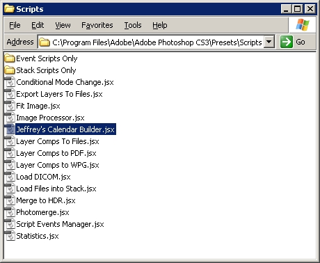 Step 02 - Copy script to Photoshop Folder