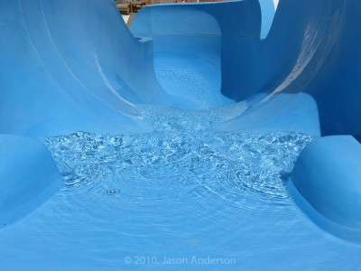 Blue Water Slide