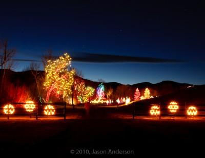 Christmas Lights at Chatfield 1