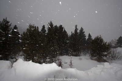 Using Flash in the Snow - #3