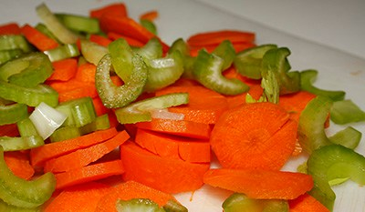Celery and Carrots