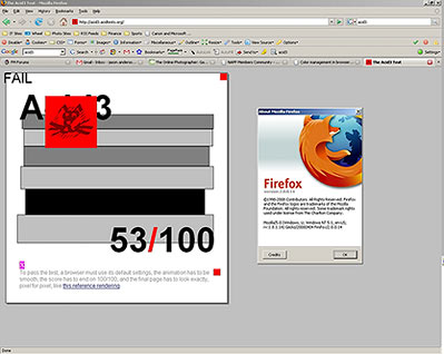 Firefox 2 on Windows XP
