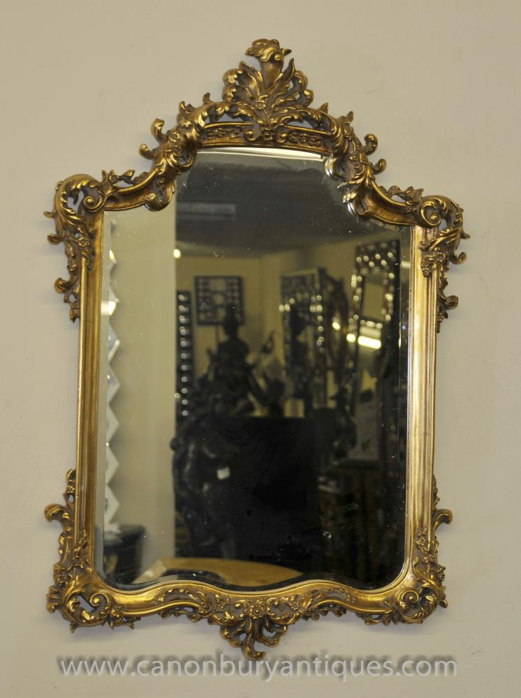 George Ii Gilt Pier Mirror Glass Mirrors