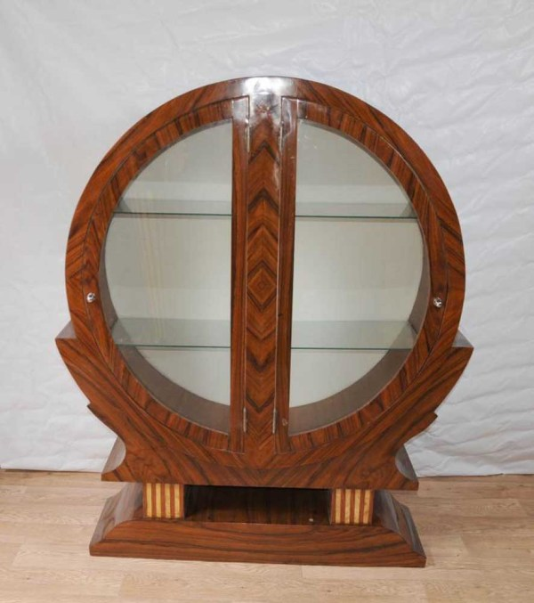 Art Deco Display Cabinet Bookcase Bijouterie 1920s Furniture