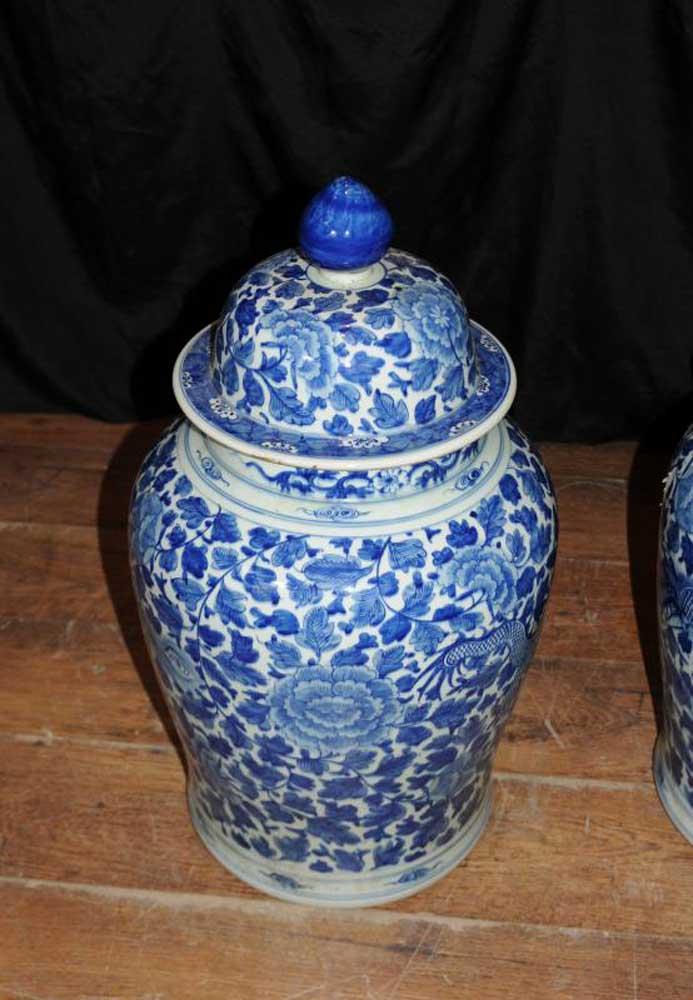 Kangxi Porcelain Vases Chinese Ceramic Ginger Jars Urns