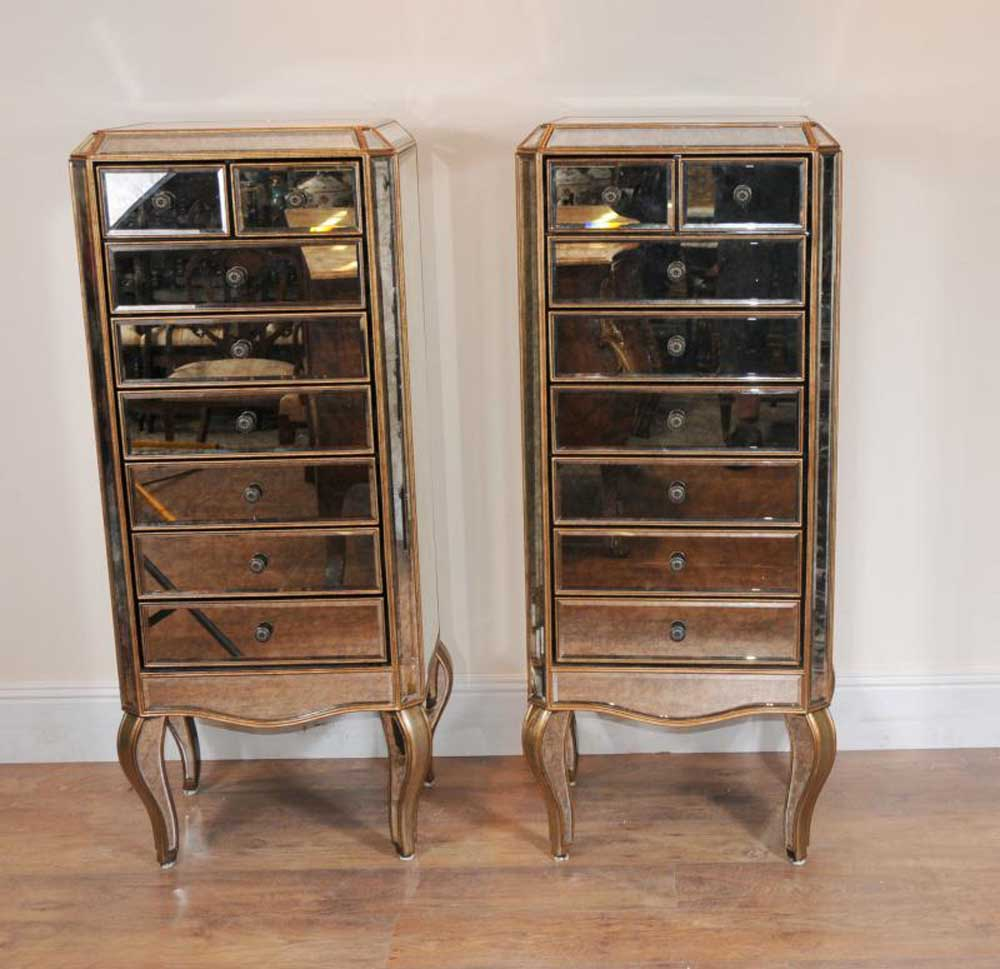 Art Deco Mirrored Cabinet