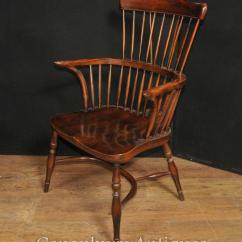 Windsor Chair With Arms Grete Jalk Single Antique Oak Arm
