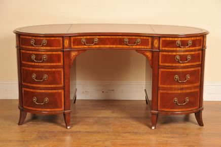 Regency Mahonie Kidney Desk