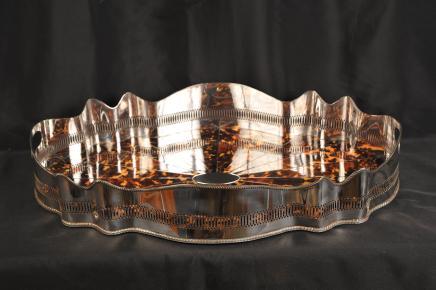 Versilbert Butlers Tray Platter