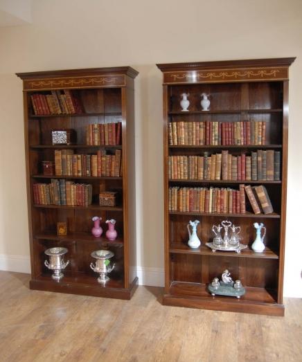 Sheraton Mahonie Openfront Boekenkasten