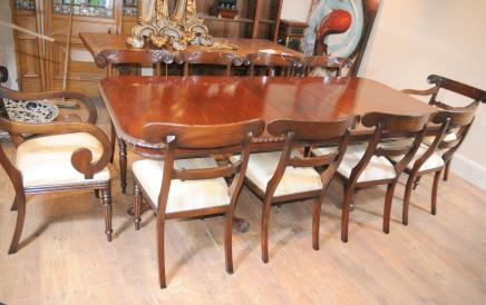 Mahogany Victorian Antique Dining Set