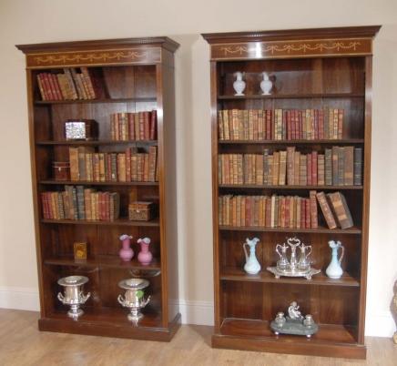 Sheraton Книжные шкафы красного дерева Openfront
