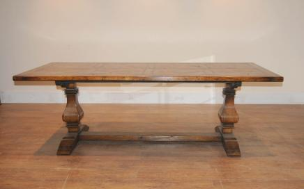 Oak refektoriet Farmhouse bukker Table Kitchen