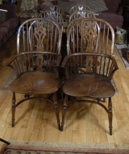 Farmhouse Windsor Dining Chairs