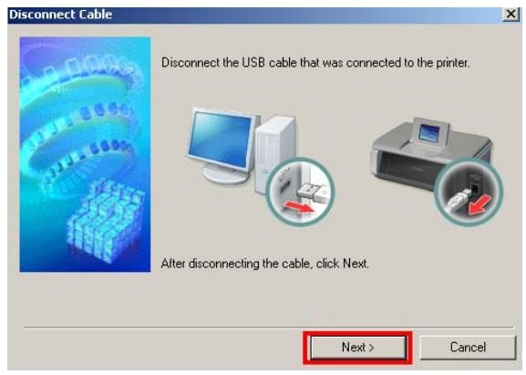 Canon Installing Drivers