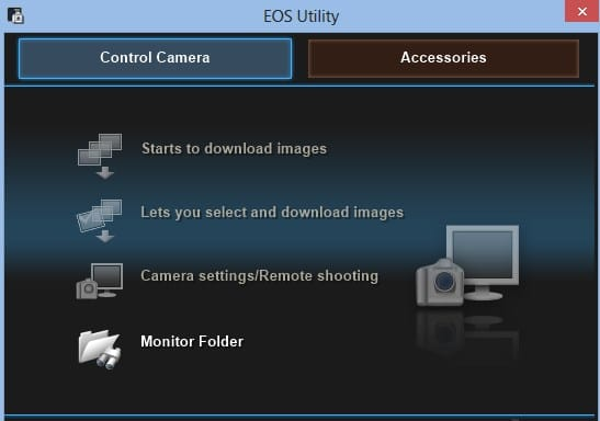 EOS Utility 3.10.30 for Windows