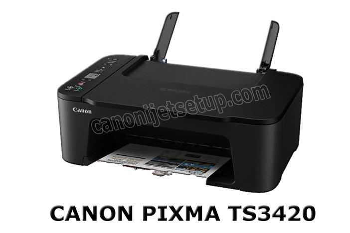 Canon Pixma TS3420 Driver Download