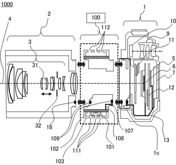 Canon Patent Application: Canon EF to RF