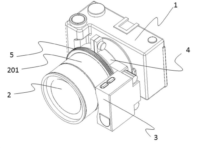 Canon Patent Application: Mirrorless Camera power zoom