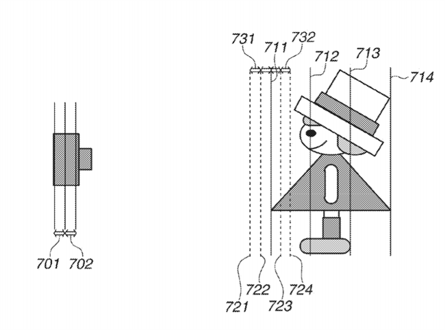 Canon Patent Application on focus stacking and image