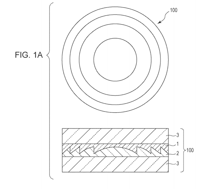 Canon Patent Application: Diffractive Optical Element