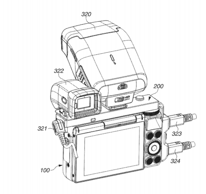 Canon Patent Application: Expansion accessory for Canon's