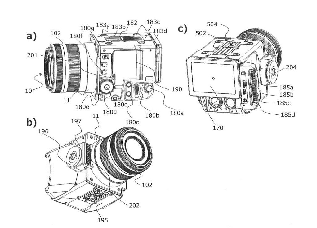 Canon Patent Application: Small modular CINI unit