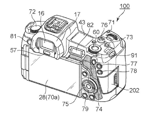 Canon Patent Application: Canon EOS-R m-Fn Bar Patent
