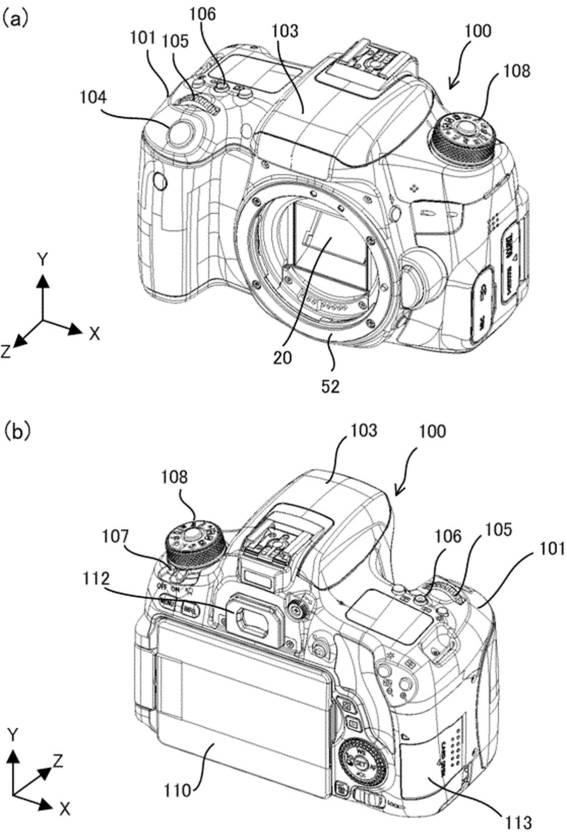 Canon Patent Application: Increased precision of shake