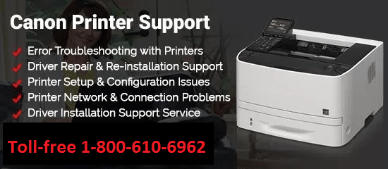 Canon Printer Support Number
