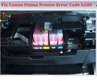 Fix Canon Pixma Printer Error Code b200