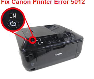 Fix Canon Printer Error 5012