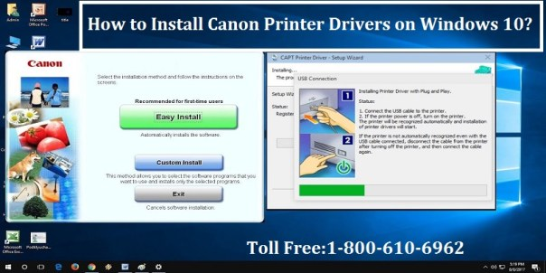 Install Canon Printer Drivers on Windows 10