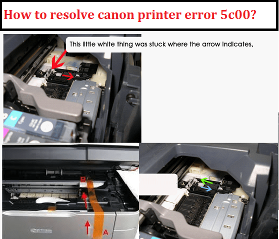 canon printer error 5c00