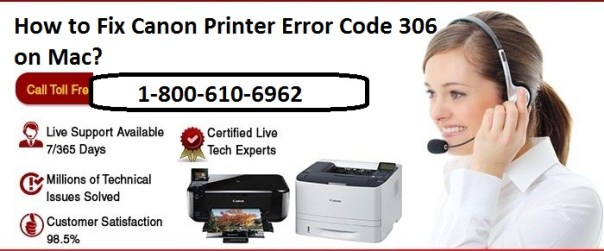 fix Canon Printer Error Code 306 on Mac