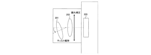 Patent: Canon Tilt-Shift with Image Stabilization