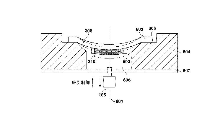 Patent: Variable Curved Image Sensor Concept